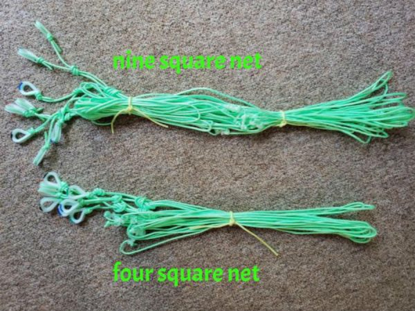 4 and 9 square net